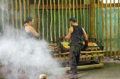 #NewZealand #TamakiVillage #dinner #geothermal #hangi #culture #Maori #Rotorua