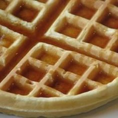 Emma's Belgian Waffles (with self-rising flour)