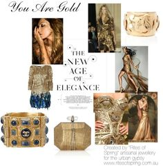 """You Are Gold"" by nikkisg on Polyvore"