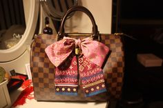 Louis Vuitton Speedy bandeau bow