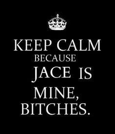 Jace Wayland// its okay you can have him.  I'll just stand over here with my Jordan, my Simon and my Jem. ;)