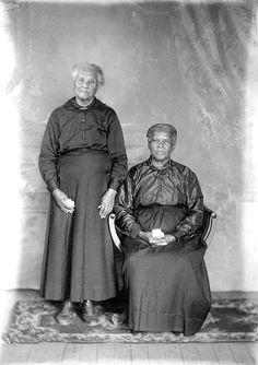 Two elderly African American women. by Black History Album, via Flickr
