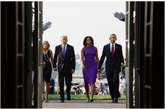 Of America Commander In Chief #BarackObama #FirstLady Of The United States  Of America #MichelleObama #VicePresident Of The United States  Of America #JoeBiden & His Wife Dr. #JillBiden #JoiningForces