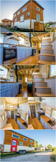 Colorado Builders Design a Tiny House Specifically for Dog Lovers - When it comes to quality tiny houses, MitchCraft Tiny Homes of Colorado has it down to a science! They've also become known for customized homes to the owner's specifications and needs like they did with new tiny homeowner, Dennis. His attractive 24-foot tiny house was designed from the trailer up just for him and his beloved pets.