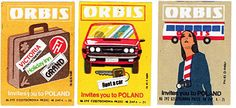 ORBIS - etykiety zapałczane
