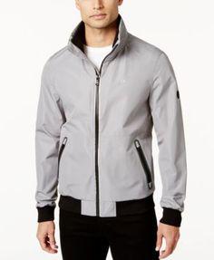 CALVIN KLEIN Calvin Klein Men'S Contrast-Trim Windbreaker. #calvinklein #cloth # coats