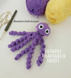 amigurumi amigurumi Puppe Kostenlose Idee a . Amigurumi For Beginners, Cat Amigurumi, Crochet Dolls, Baby Knitting, Free Pattern, Crochet Necklace, Projects To Try, Crochet Patterns, Bunny
