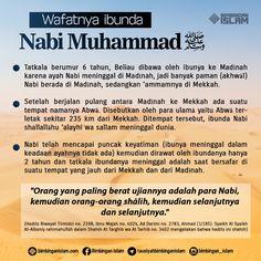 wafatnya ibu nabi sallallahu 'alaihi wa sallam... Mekkah, Doa Islam, Learn Islam, Hadith, Islamic Quotes, Quran, Did You Know, Wise Words, Motivation