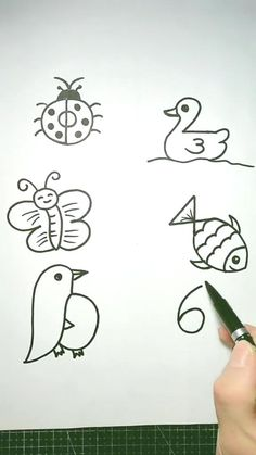 drawings doodles pumpkins How to draw pictures using numbers 1 to 10 Easy Drawings For Kids, Cool Art Drawings, Pencil Art Drawings, Art Drawings Sketches, Drawing For Kids, Art For Kids, Shark Drawing Easy, Easy Rose Drawing, Cute Easy Animal Drawings