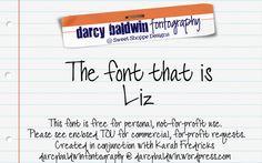 DJB LIZ Font