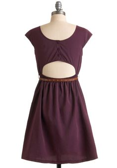 Keep in Touch Dress |  ModCloth.com| $44.99  This is the back, front is a really pretty, basic cut with a scoop neck.