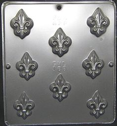 Fleur de Lis Chocolate Candy Mold Candy Making 188