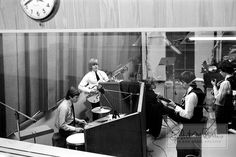 Rolling Stones Recording at Chess Records Studio 1964 Limited Edition Photograph | Bob Bonis, photographer