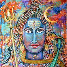 Reine Shiva Conciousness Print