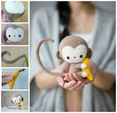 dk ravelry  chinese new year monkey pattern by stephanie jessica lau free crochet pattern for the small toy hammock  this toy hammock      rh   pinterest