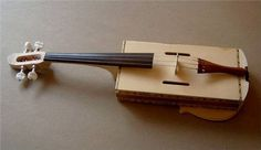 How to Build a Fiddle Out of a Cigar Box