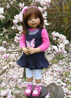 NWT-Masterpiece-Dolls-Rory-by-Monika-Levenig-Brunette-Doll
