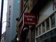 Nice slogan for London Restaurant inspired by John Lennon's song.