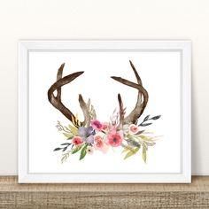 https://www.etsy.com/au/listing/476646198/floral-antler-print-8-x-10-instant