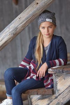 blanket cardigan | supersoft and drapey knit with a cascading non-closure silhouette | abercrombiekids.com