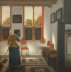 La balayeuse, Pieter Janssens Helinga