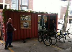 shipping container bike hire - Google Search