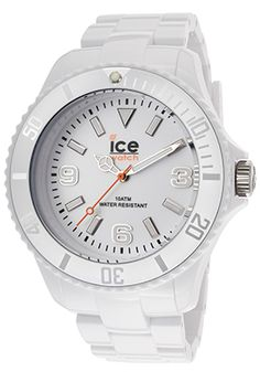 White Plastic Ice Watch for nursing school clinicals. Easy to sanitize, durable, & fashionable styles for students at the iStudentNurse Shop.