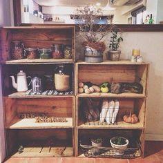 リンゴ箱 カフェ - Google 検索                                                                                                                                                                                 More