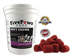 Pure Krill Oil Soft Chews Shed Free Omega 3 6 for Dogs Helps Relieve Skin Allergies Reduces Shedding Promotes Healthy Skin Coat Gives Itching Relief Antioxidant Fish Oil 60 Chews *** undefined Anti Itch Cream, Krill Oil, Itch Relief, Oils For Dogs, Cat Shedding, Best Dog Food, Dog Chews, Fish Oil, Cat Health
