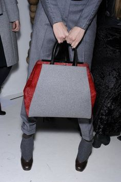 It's hard for me to think about Fall accessories already, but this Fendi bag is beautiful.