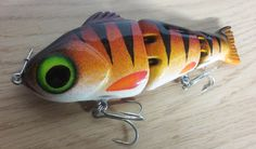 Cool handmade fishing lures