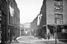 Michael's Lane, looking south to Cook Street, Dublin