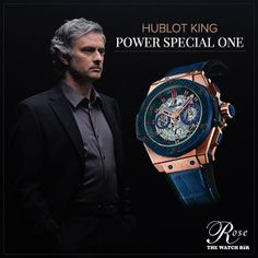"""The King Power """"Special One"""" is dedicated to one of the most charismatic personality in European football, Jose #Mourinho  Special, isn't it?  #Baselworld2014"""