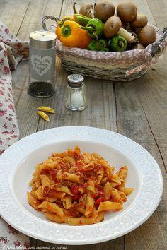 GARGANELLI ALLA ZINGARA, un primo sfizioso e saporito tipico della tradizione romagnola. #garganelli #zingara #pasta #primi #Romagna #romagnola #ricette #gialloblogs #funghi
