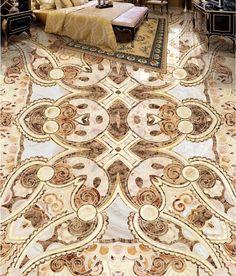 (48.56$)  Buy here  - Custom 3D flooring wallpaper vinyl flooring bathroom waterproof self-adhesive 3d floor marble art
