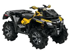 Can Am for Byler, though I have to admit this monster blows my quad out of the water!