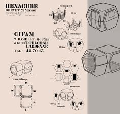 Georges Candilis , Anja Blomstedt l'hexacube