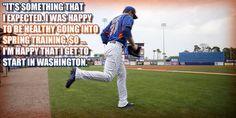 Great teammate! #Mets