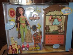 My Scene, My Room Chelsea Getting Ready Playset by Mattel, c. 2003
