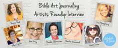 Bible Art Journaling Artists Roundup Interview