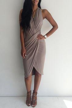 flattering dress