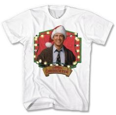 There it is... The Griswold NATIONAL LAMPOON™ 'Christmas Vacation Framed Lights' Men's Cotton T-Shirt! Get this at Sears Canada! #UglySweater #Swagbucks CandyCane Gang