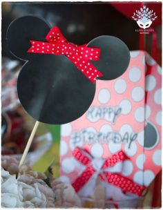 Minnie Mouse Bday Party | CatchMyParty.com