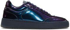ETQ Amsterdam - Navy Oiled Low 5 Sneakers