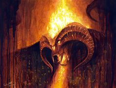 """""""It is forbidden for any  Balrog to come beneath the sky since Fionwe son of Manwe overthrew Thangorodrim. """""""