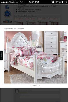 Ashley Furniture Twin Princess Bed