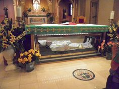 5 January Feast Day St John Neumann His incorrupt body lies in the lower church in his National Shrine Cathedral in Philedelphia