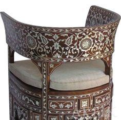 Shell Chair, Living Room Decor Modern, Decor, Furniture Design, Moroccan Decor, Chair, Thai Decor, Oriental Furniture, Furniture Making