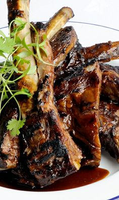 Barbecue sticky ribs - Josh Eggleton