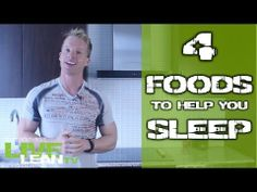 4 Foods to Help You #Sleep from #FitFluential Ambassador Brad Gouthro